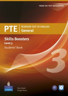PEARSON TEST OF ENGLISH GENERAL SKILLS BOOSTER 3 STUDENTS' BOOK AND CDPACK