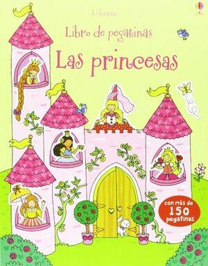 LAS PRINCESAS LIBRO DE PEGATINAS