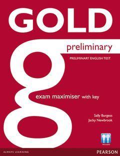 GOLD PRELIMINARY EXAM MAXIMISER WITH KEY & ONLINE AUDIO