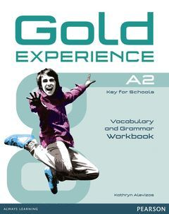 GOLD EXPERIENCE A2 GRAMMAR & VOCABULARY WB WITHOUT KEY