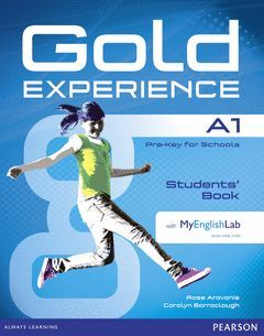 GOLD EXPERIENCE A1 STUDENTS' BOOK WITH DVDROM AND MYENGLISHLAB