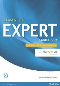 ADVANCED EXPERT (3RD EDITION) COURSEBOOK WITH AUDIO CD AND MYENGLISHLAB