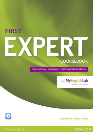 EXPERT FIRST (3RD EDITION) COURSEBOOK AUDIO CD AND MYENGLISHLAB
