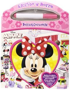 PINTAR Y BORRAR MINNIE MOUSE