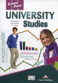 UNIVERSITY STUDIES STUDENT'S BOOK