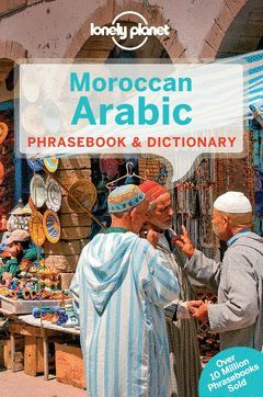 MOROCCAN ARABIC PHRASEBOOK 4  *LONELY PLANET ING.2014*