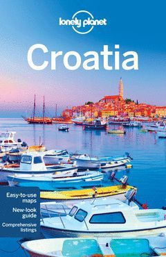 CROATIA 8  *LONELY PLANET ING.2015*