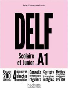 DELF A1 SCOLAIRE ET JUNIOR+DVDR