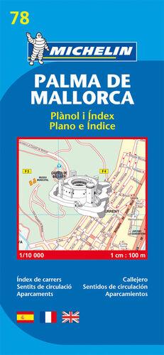 PLANO PALMA DE MALLORCA