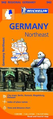 MAPA REGIONAL GERMANY NORTHEAST