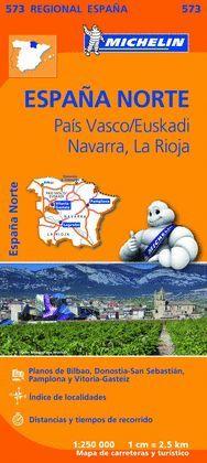 MAPA REGIONAL PAIS VASCO/EUSKADI, NAVARRA, LA RIOJA