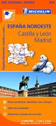 MAPA REGIONAL CASTILLA Y LEON, MADRID