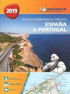 ESPAÑA & PORTUGAL (FORMATO A-4) (ATLAS DE CARRETERAS Y TURISTICO )