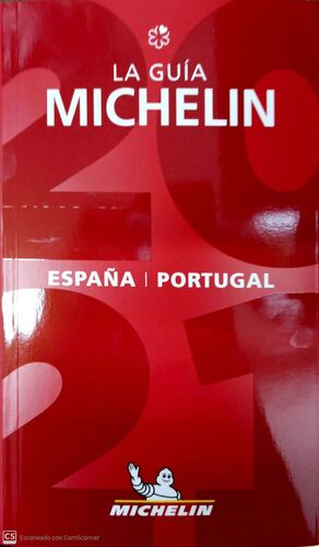 GUIA MICHELIN ESPAÑA Y PORTUGAL 2021