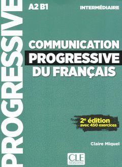 COMMUNICATION PROGRESSIVE DU FRANÇAIS - NIVEAU INTERMEDIAIRE