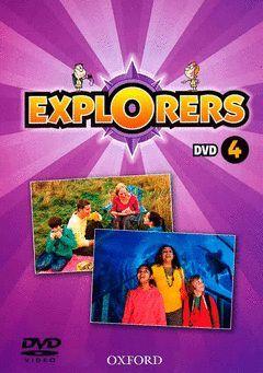 EXPLORERS 4ºPRIM. (DVD PROFESOR)