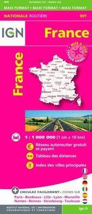 901 FRANCE 1:1.000.000 -IGN