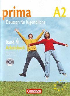 PRIMA BAND 4 A2 ARBEITSBUCH