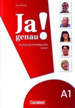 JA GENAU! BD.A1/1+2 TESTHEFT, M. AUDIO-CD
