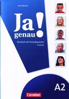 JA GENAU! BD.A2 TESTHEFT, M. AUDIO-CD