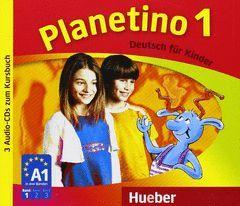 PLANETINO 1 AUDIO CD