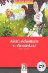 ALICE IN WONDERLAND+CD