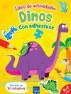 DINOS.ACTIVIDADES CON ADHESIVOS.YOYO-INF-RUST