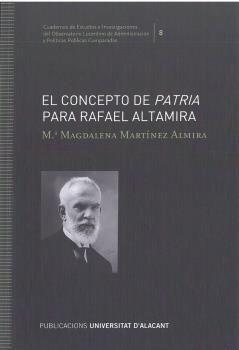 CONCEPTO DE PATRIA PARA RAFAEL ALTAMIRA, EL