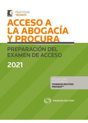 ACCESO A LA ABOGACIA Y PROCURA PREPARACION EXAMEN 2021 DUO