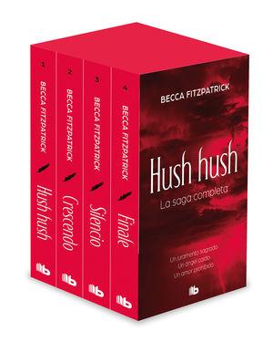 TETRALOGIA HUSH HUSH (EDICION ESTUCHE CON: HUSH HUSH  CRESCENDO  SILENCIO  FI