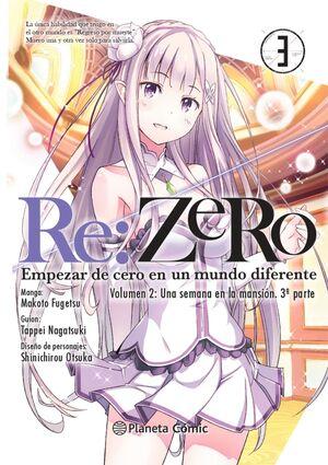 RE:ZERO CHAPTER 2 (MANGA) Nº 03