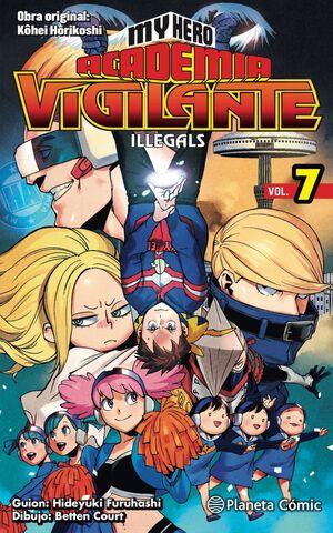 MY HERO ACADEMIA VIGILANTE ILLEGALS Nº 07
