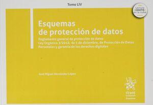 ESQUEMAS DE PROTECCIÓN DE DATOS. TOMO LIV