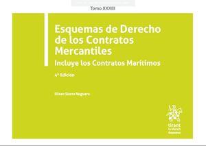 ESQUEMAS DE DERECHO DE LOS CONTRATOS MERCANTILES INCLUYE LOS CONTRATOS MARITIMOS
