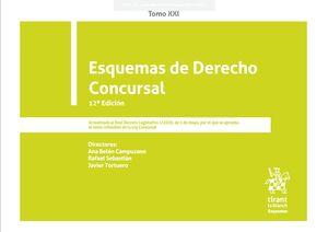 ESQUEMAS DE DERECHO CONCURSAL TOMO XXI