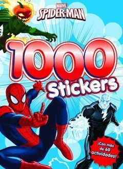 SPIDER-MAN. 1.000 STICKERS