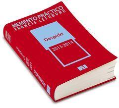 MEMENTO DESPIDO 2013-2014