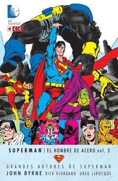GRANDES AUTORES DE SUPERMAN: JOHN BYRNE 3