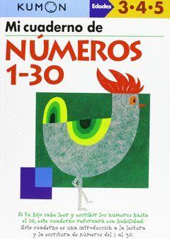 KUMON - MI LIBRO DE NUMEROS