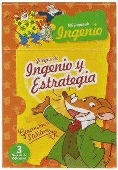 JUEGOS INGENIO ESTRATEGIA GERONIMO STILTON