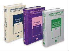 PACK MEMENTO PROCESAL CIVIL 2015 + MEMENTO PROCESAL PENAL 2015 + MEMENTO PROCESA