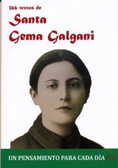 SANTA GEMA GALGANI.366 TEXTO DE