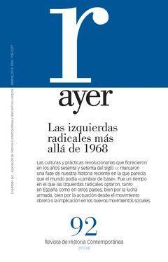 IZQUIERDAS RADICALES MÁS ALLÁ DE 1968, LAS
