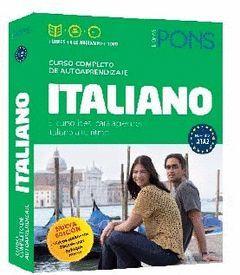 CURSO PONS ITALIANO. 2 LIBROS + 4 CD + DVD