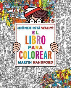 DONDE ESTA WALLY LIBRO PARA COLOREAR