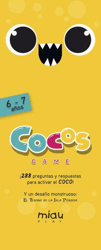 COCOS GAME 6-7 AÑOS