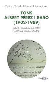 FONS ALBERT PÉREZ BARÓ (1902-1989)