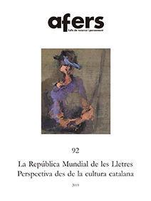 LA REPUBLICA MUNDIAL DE LES LLETRES