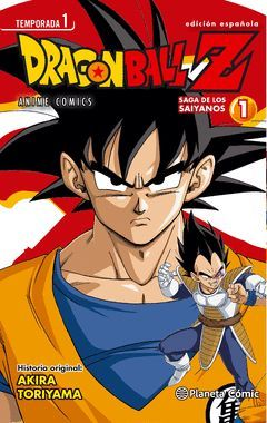 DRAGON BALL Z ANIME SERIES SAIYAN Nº 01