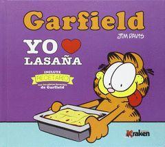 GARFIELD YO AMO LA LASAÑA